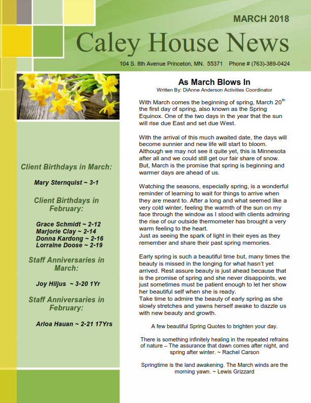 March news letter_001
