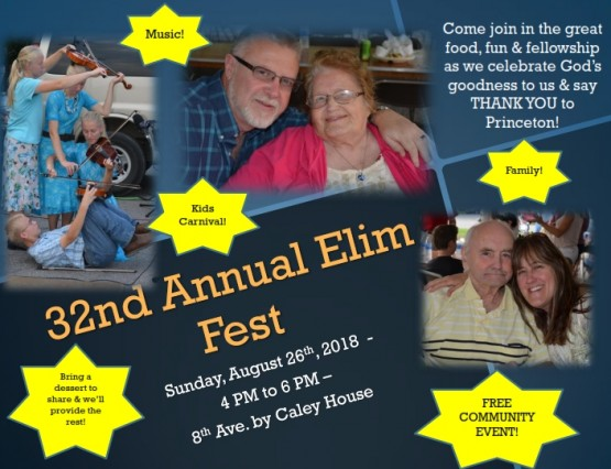 32nd Annual Elim Fest pigroast - poster- 2018_001