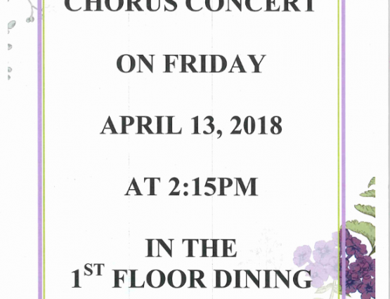 Choral Aires Concert